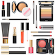 Vector Professional Makeup Cosmetics