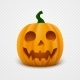 Realistic Vector Halloween Pumpkin - GraphicRiver Item for Sale