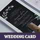 Botanical Wedding Invitation v3 - GraphicRiver Item for Sale