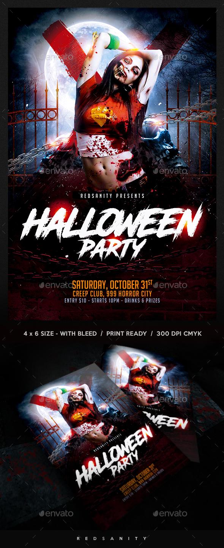 Halloween Flyer - Holidays Events