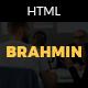 Brahmin – Responsive One Page Portfolio template - ThemeForest Item for Sale