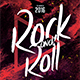 Rock & Roll Flyer Template