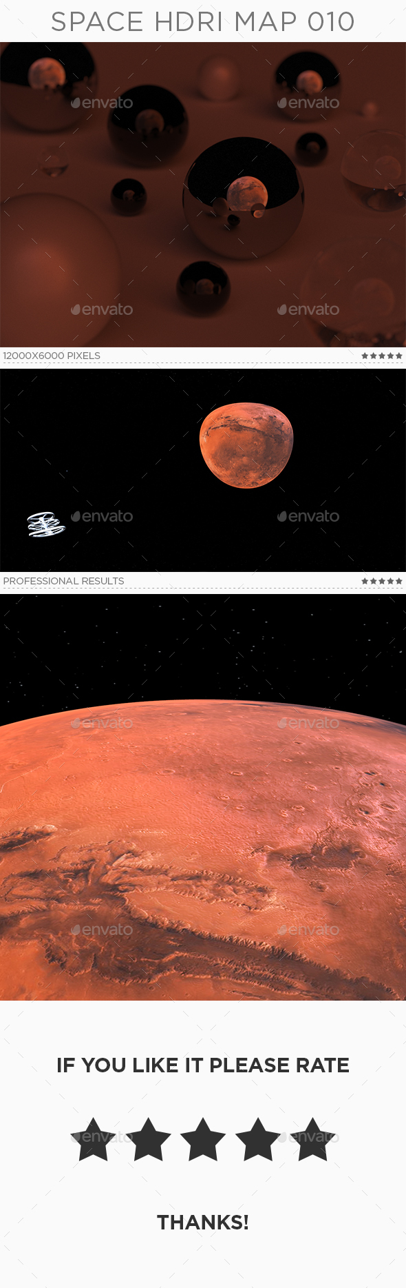 Space HDRi Map 010 - 3DOcean Item for Sale