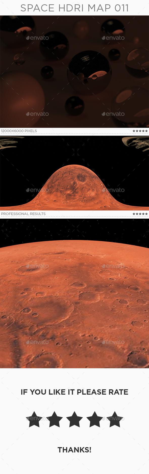 Space HDRi Map 011 - 3DOcean Item for Sale