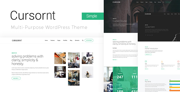 Cursornt - Multi Purpose WordPress Theme