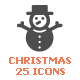 Christmas Filled Icon - GraphicRiver Item for Sale