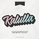 Free Download Kalulla Clean Handwritten Font Nulled