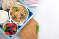 Healthy breakfast with muesli and milk - PhotoDune Item for Sale