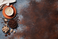 Coffee cup, beans and sugar - PhotoDune Item for Sale