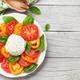 Caprese salad with tomatoes, basil and mozzarella - PhotoDune Item for Sale