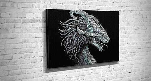 Collection of Canvas Mockups