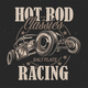 Hot Rod Background - GraphicRiver Item for Sale