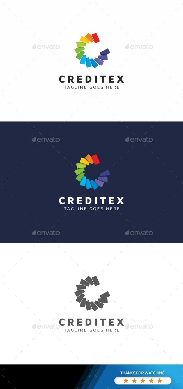 Credit C Letter Logo - Letters Logo Templates