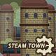 2D Steampunk Town Set