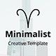 Minimalist 2019 Google Slide Template - GraphicRiver Item for Sale