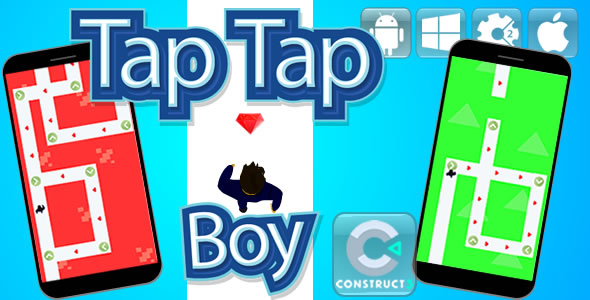 Tap Tap Boy - Html5 Game - CodeCanyon Item for Sale