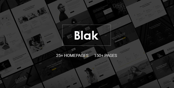 Blak - Responsive Multi-Purpose HTML5 Template