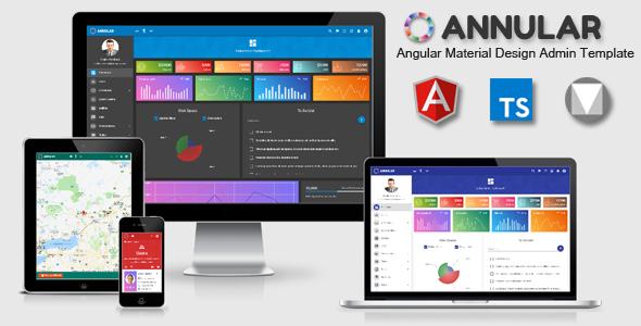 Annular - Angular Material Design Admin Template