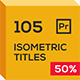 Extrude Isometric Titles