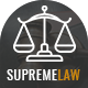 Supremelaw - Lawyer & Attorney HTML Template - ThemeForest Item for Sale