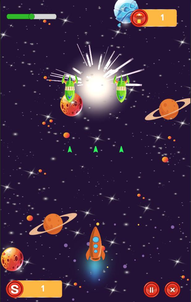 Rocket Combat - Unity Game