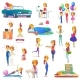 Set of Isolated Ladies or Women - GraphicRiver Item for Sale