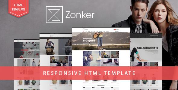 Zonker - Fashion eCommerce Bootstrap 4 Template - Fashion Retail