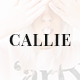 Callie - Blog PSD Template - ThemeForest Item for Sale