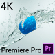 Free Download Crystal Water Logo - Premiere Pro Nulled