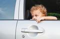 sad boy near car window - PhotoDune Item for Sale