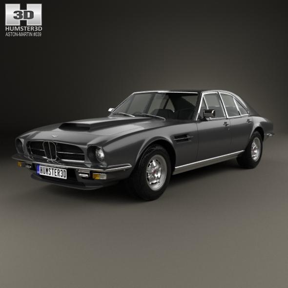 Aston Martin Lagonda V8 saloon 1974