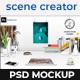 Scene Creator Office Desk Mock-Up