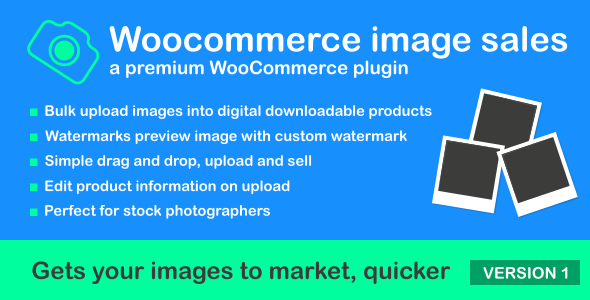 Woocommerce Image Sales            Nulled