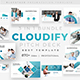 Cloudify Pitch Deck 3 in 1 Bundle Powerpoint Template - GraphicRiver Item for Sale
