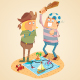 Adventure of Treasure Hunters - GraphicRiver Item for Sale