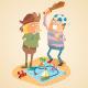 Adventure of Treasure Hunters - GraphicRiver Item for Sale