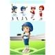 Kids in Baseball Uniform on The Field