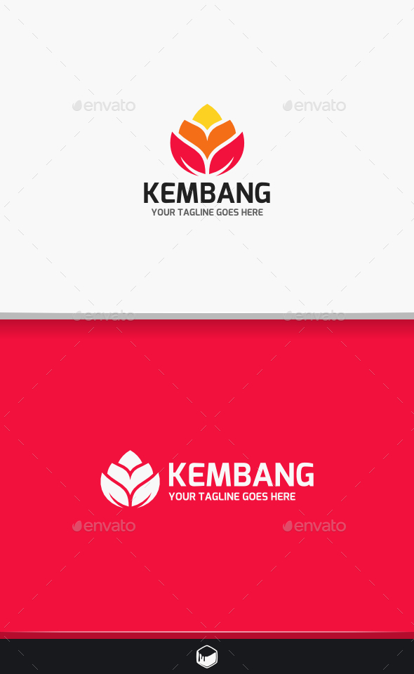 Flower Kembang Logo - Nature Logo Templates