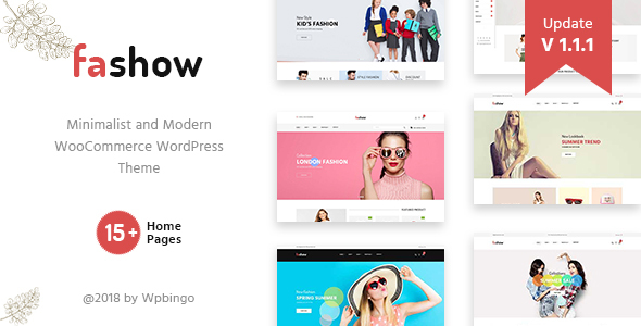 Fashow - Minimal and Modern WooCommerce Fashion Theme