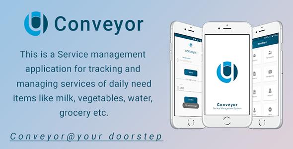 Conveyor - IOS Service Management App - CodeCanyon Item for Sale