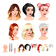Fashion Female Avatars - GraphicRiver Item for Sale
