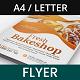 Bakeshop Creative Flyer