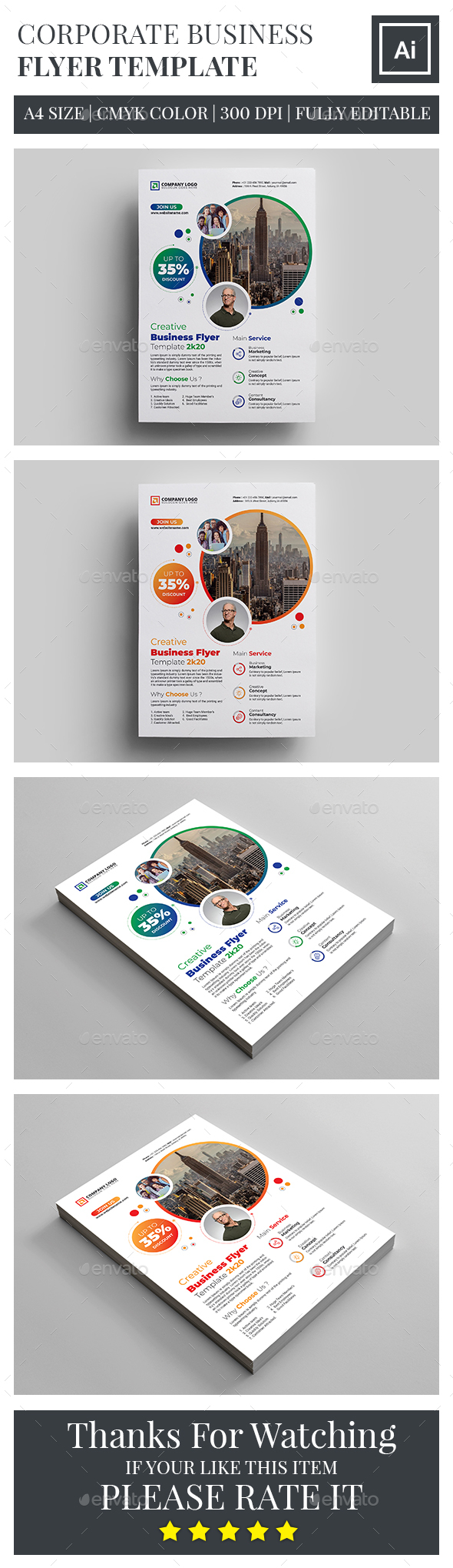 Business flyer templates from graphicriver friedricerecipe Choice Image