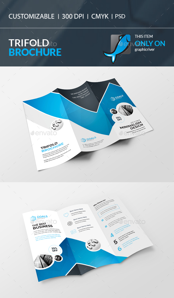 Brochure Templates From GraphicRiver - Indesign brochure templates