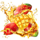Mango into of Splashes Juices - GraphicRiver Item for Sale