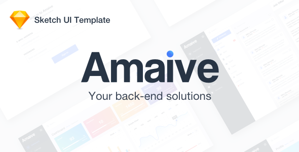 Amaive - Admin Sketch Template - Sketch Templates