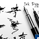 Ink Dynamic Brushes - GraphicRiver Item for Sale