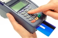 Using credit card and payment terminal, enter personal identification number - PhotoDune Item for Sale