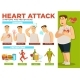 Heart Attack Symptoms and Preventions Poster Text - GraphicRiver Item for Sale