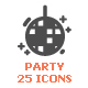 Party Filled Icon - GraphicRiver Item for Sale
